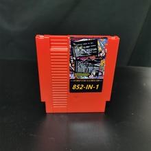 En kaliteli 852 in 1 (405 + 447) pil tasarrufu oyun kartı 72 pins 8bit oyun kartuşu
