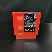 Qualidade superior 852 em 1 (405 + 447) bateria salvar cartão de jogo 72 pinos 8bit cartucho de jogo