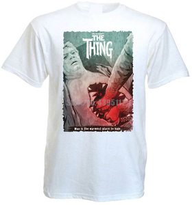 The Thing Movie Poster мужская одежда футболки Lgb футболки как футболки лайки футболка Армия России Vqbvnm