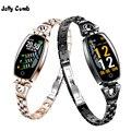 Jelly Comb Модные женские Смарт-часы 0,96 дюймов монитор сердечного ритма умный Браслет монитор сна умные часы для девочек подарок