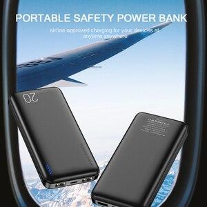 Image 5 - Floveme uniwersalny ładujący Powerbank 10000/20000mAh Power Bank dla Xiao mi mi 9 8 wysokiej jakości dwa porty usb Battery Powerbank