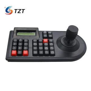 Image 2 - Tzt 3D Ptz Cctv Keyboard Controller Joystick Voor RS485 Ptz Speed Dome Camera Bracket Ondersteuning Pelco D / P protocol 3 Axis