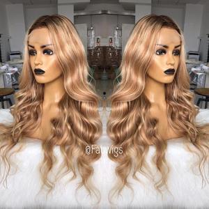 Image 4 - Perruque Full Lace wig brésilienne naturelle Remy fabwig