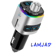 Radio-Adapter Charger Car-Transmitter Mp3-Player USB Aux Bluetooth FM TF Modifier