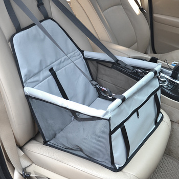 CAWAYI KENNEL Travel Dog Car Seat Cover Folding Hammock Pet Carriers Bag Carrying For Cats Dogs transportin perro autostoel hond 11