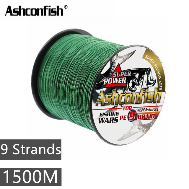 Multifilament fishing line canadian string 1500M wire line
