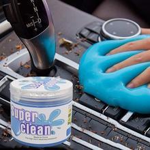 Автомобильный волшебный пылеочиститель с вентиляционным отверстием, гель для дома, авто, ноутбука, клавиатуры, офиса, щелей, мытья грязи, уд...
