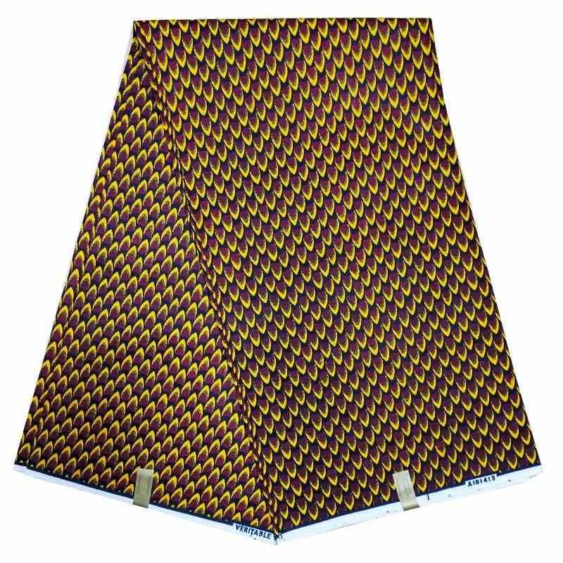 3 yard/lot Nigeriaanse nieuwe java nieuwe wax 100% katoen afrikaanse mooie waxprint ankara hitarget wax stof luxe ontwerp