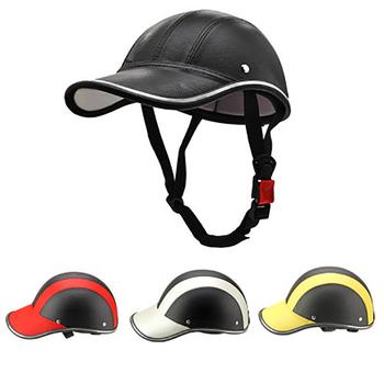 Kask rowerowy kask skórzany na wpół otwarte twarz kask ochronny mężczyźni kobiety kask rowerowy dla MTB kask do jazdy na deskorolce czapka z daszkiem tanie i dobre opinie (Dorośli) mężczyzn CN (pochodzenie) 400g 8 Ultralight kask