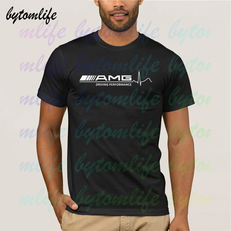 Mercedes Amg Cars T Shirt Summer Print Black T Shirt Clothes Popular Shirt Cotton Tees Amazing Short Sleeve Unique Men Tops