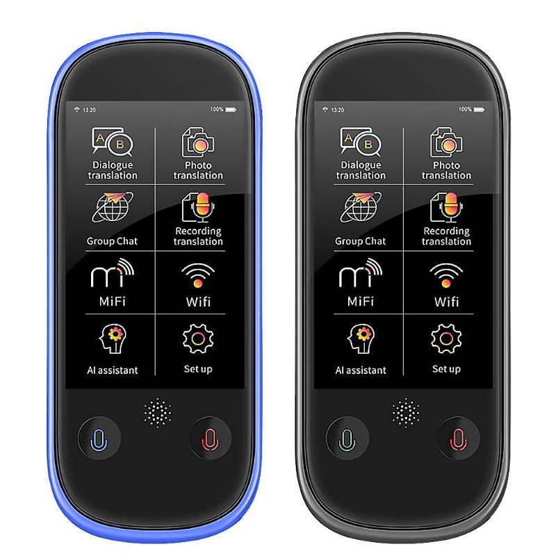 Boeleo W1 Pro 3 inch LCD/IPS 4G WiFi 1+8G 77 Languages Quad-Core Smart Translator Photo Translation Business Travel Assist Tools
