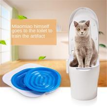 Litter-Box Toilet-Trainer Puppy-Cat-Litter-Mat Training-Kit Plastic Best