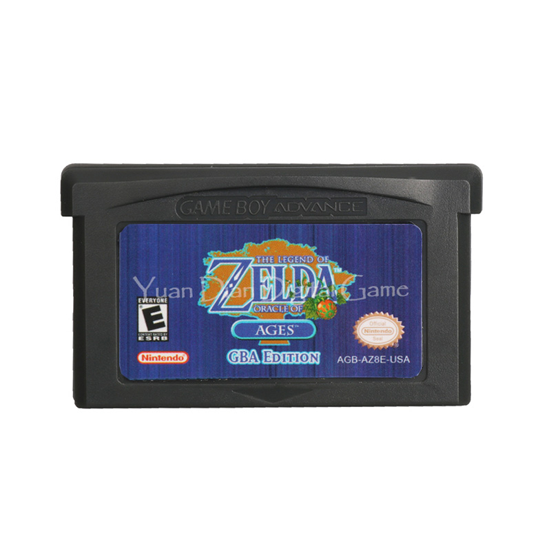 For Nintendo GBA Video Game Cartridge Console Card The Legend Of Zeld Oracle Of Ages English Language US Version