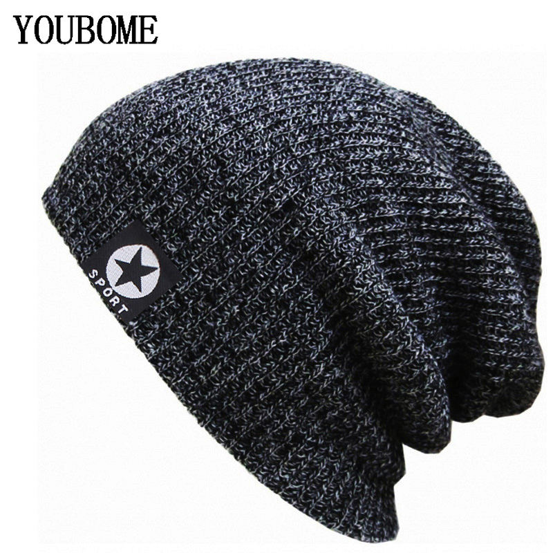 Brand Skullies Beanies Women Winter Hats For Men Knitted Hat Men Famale Beany Gorro Warm Bonnet Touca Male Winter Beanie Hat Cap