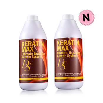 Newest DS Max 1000ml 5% Formalin Brazilian Keratin Treatment Repair Damaged Hair Make Shiny and Smoothing Hair Free Shipping 1000ml ds max brazilian keratin treatment 5