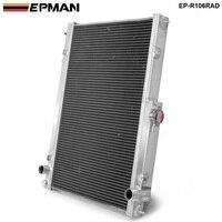 42MM 2 Row Aluminum Radiator for Nissan Skyline R33 R34 GTR GTST RB25DET MT EP R106RAD