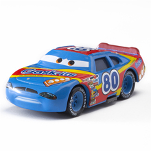 Cars Disney Pixar Cars  3 No.80 Racing Car Lightning McQueen Jackson Storm Cruz Mater  Diecast Metal Alloy Model Car Toy Gifts cars disney pixar cars 3 track parking lot lightning mcqueen mater plastic diecasts toy vehicles model car toys for children