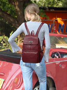 Backpacks Shoulder-Bag Travel-Bags Female Women's SCV Classic-Style Student Casual Lady