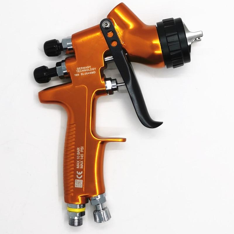 Tools : 2020 new PGK PLUS RP high atomization spray gun High-end pro spray gun 1 3mm transparent coat varnish air paint sprayer