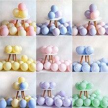 20 Pcs Macaron Ballon 1st Gelukkige Verjaardag Decoraties Eerste Verjaardag Jongen Meisje Party Kids Volwassen Baby Een Jaar Verjaardag Decor 21 40