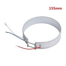 Calentador de banda delgada de 155mm 220V 700W para Cocina eléctrica, piezas para electrodomésticos, elemento calefactor de banda