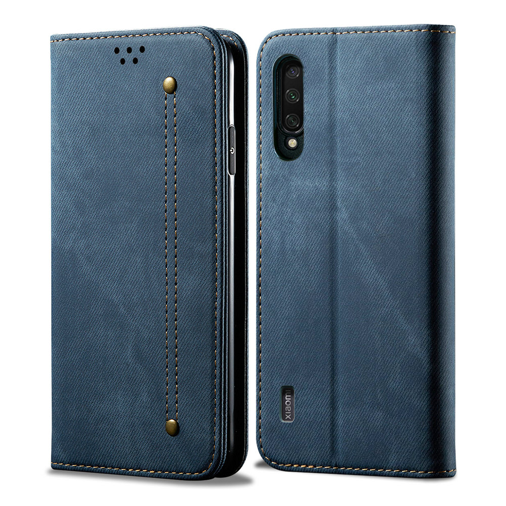 For <font><b>Xiaomi</b></font> <font><b>Mi</b></font> <font><b>9</b></font> Lite <font><b>Case</b></font> Mi9 T 9T Pro <font><b>Flip</b></font> Cover Luxury Solid Cloth Leather Wallet Funda <font><b>Xiaomi</b></font> <font><b>Mi</b></font> <font><b>9</b></font> Lite Cover <font><b>Mi</b></font> A3 9Lite CC9 image