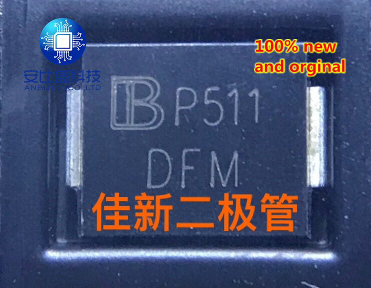 25pcs 100% New And Orginal SMDJ33CA 33V High Power Two-way TVS Protection Tube DO214AB Silk Screen DFM In Stock