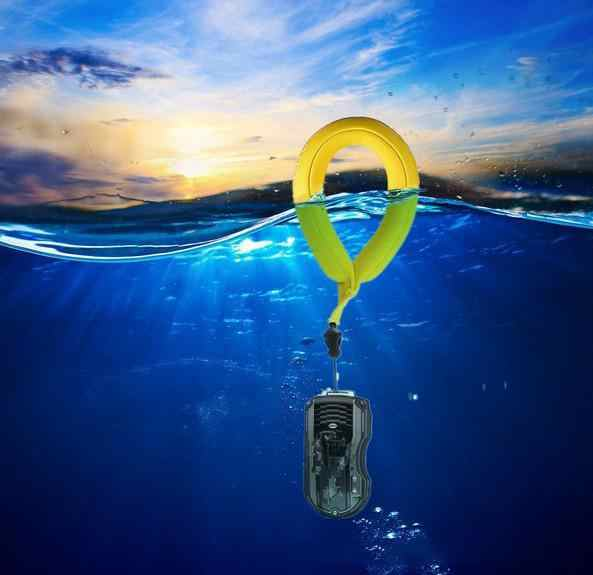 HobbyLane Bright Color Swimming Driving Anti-lost Sports Floating Waterproof Camera Wrist Strap Practical Handle for GoPro r60