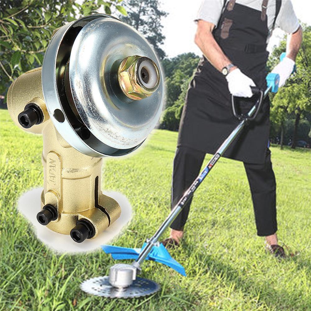 Grass Trimmer Lawnmower Gear Gearhead Brush Cutter Replace Gear Head Garden Tool Home 7Teeth/9Teeth 26mm/28mm