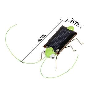 2019 New Solar Grasshopper Educational Solar Powered Grasshopper Robot Toy Required Gadget Gift Solar Toys No Batteries For Kid 6