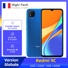 Xiaomi Redmi 9C versión Global Smartphone 2GB 32GB/3GB 64GB 13MP Triple Cámara 6,53