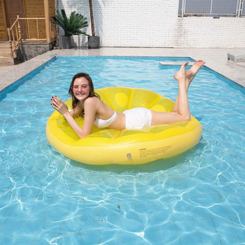 flutuante fileira melancia flutuante ilha montagem anel de natacao cadeira 02