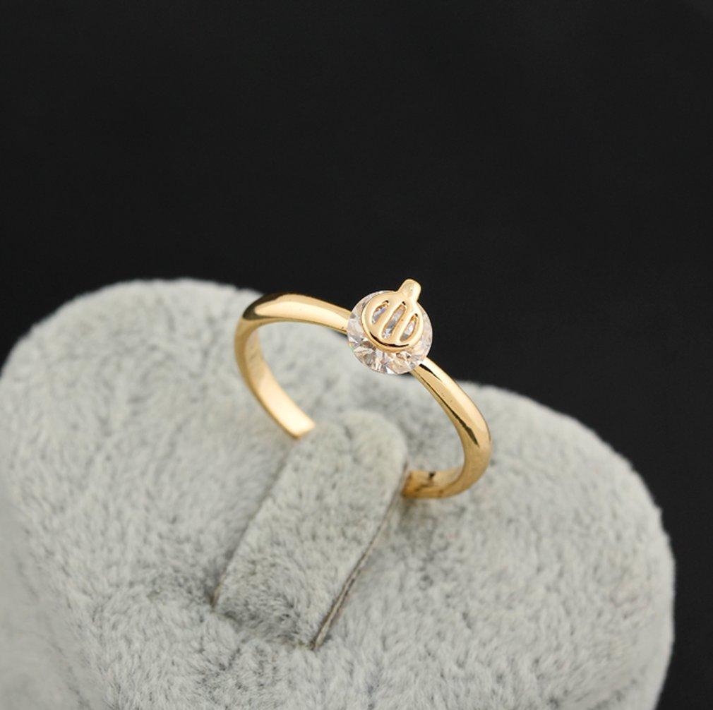 Mode Katze-Förmigen Drei-Jawed Zirkon Ring Kupfer Finger Reif Hoop Decor Frauen Charming Hochzeit Engagement Ringe Mädchen geschenk