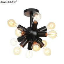 RH Style Modern Ceiling Light Loft Decor Led Ceiling Lamps Iron Home Lighting For Living Room Bedroom Fixtures Lustre Luminaria(China)