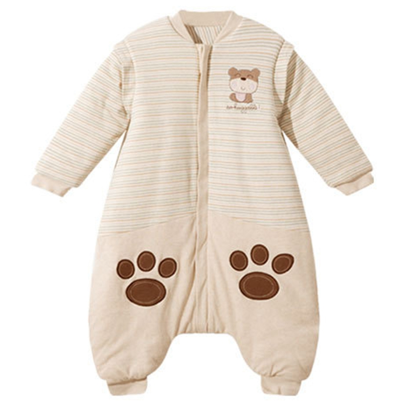 Baby Sleeping Bags Cotton Long Sleeve Sleep Sack Cute Cartoon Jumpsuit For Children Baby Sleep Sack