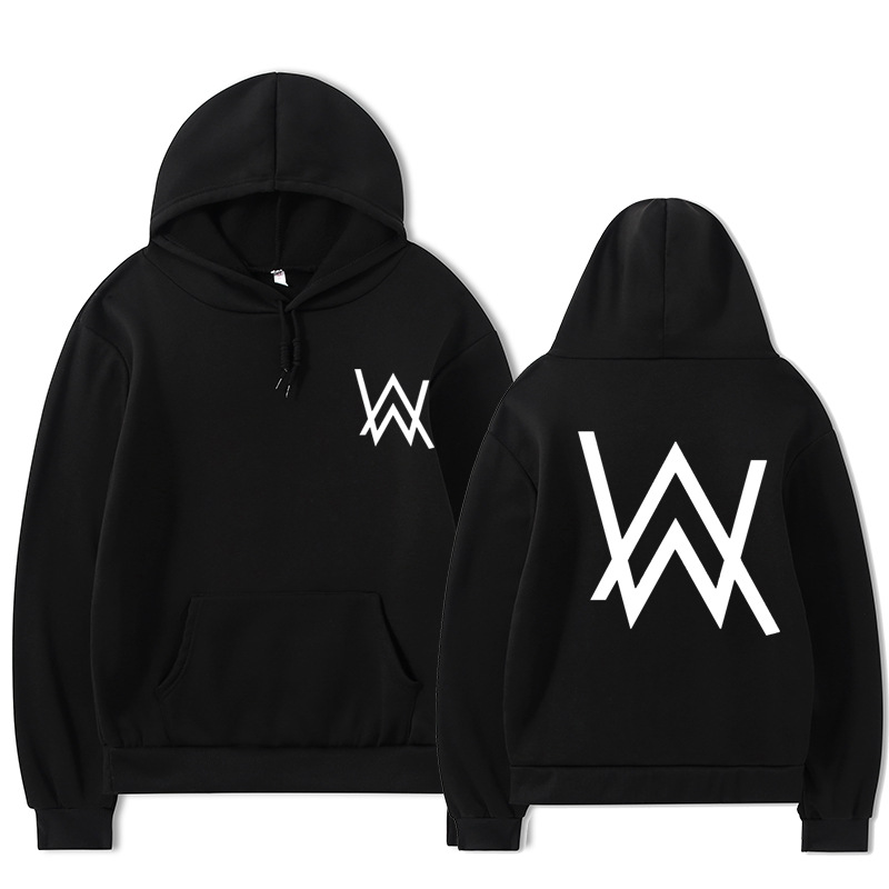 2021 Fall/Winter Alan Walker Hoodie Couple Loose Large Size Wild Casual Men and Women Pullover 7