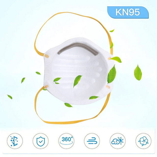 Dust Masks Antivirus Flu Anti Infection Particulate Respirator Virus Anti-fog PM2.5 Protective Mask Safety Masks In Stocks KN95 1