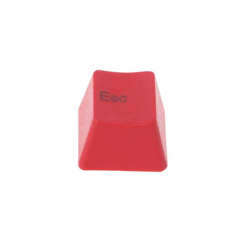 الميكانيكية لوحة المفاتيح سميكة PBT الأحمر ESC غرار Keycap R4 الكرز MX التبديل OEM ارتفاع Au06 19 دروبشيب