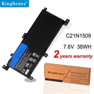 Image 1 - KingSener 7.6V 38WH C21N1509 מחשב נייד סוללה עבור ASUS X556U X556UA X556UB X556UF X556UJ X556UQ X556UV A556U F556UA K556UA K556UV