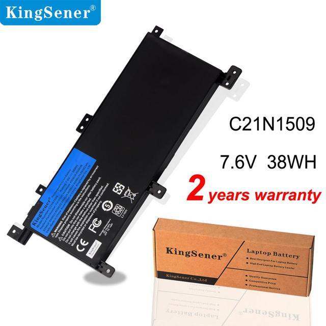 KingSener 7.6V 38WH C21N1509 מחשב נייד סוללה עבור ASUS X556U X556UA X556UB X556UF X556UJ X556UQ X556UV A556U F556UA K556UA K556UV