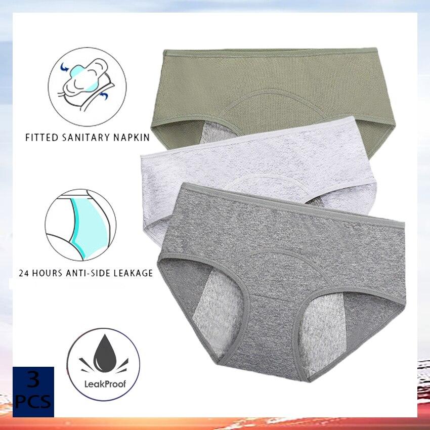 Calcinha de período, calcinha menstrual, calcinha feminina, calcinha antibacteriana da virilha pantie, roupa interior anti-lateral da segurança do escapamento