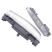 Car-Styling LED DRL Daytime Running Light For Mercedes Benz C-Class W204/S204 2011 2012 2013 2014 W213 2013 R172 2012 2013 цена 2017