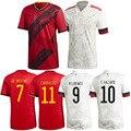 Belgium 2021 European Cup Home away Soccer Jersey LUKAKU HAZARD KOMPANY DE BRUYNE 20/21 Adult and kids kit football shirt