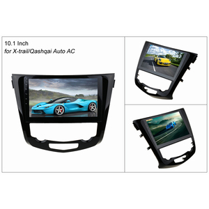 Image 2 - SINOSMART Stock in RU EU IPS/QLED Android 7.1 Car Navigation GPS Player for Nissan X trail/Qashqai 2013 18 Support 360 system