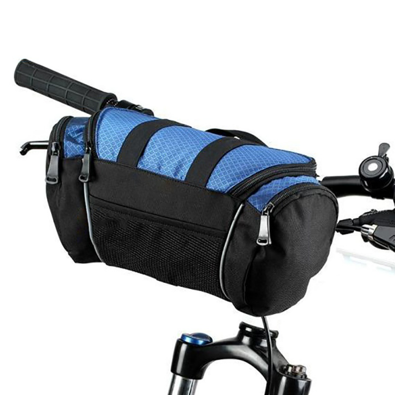 Bike Handlebar Bag Front Basket Bicycle Storage Bag Front Tube Bag Waterproof