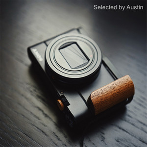 Image 3 - Wooden Hand Grip Bracket Base L Plate For SONY RX100 VII RX100 M7 M6 RX DSC RX100
