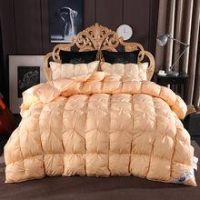 95% гусиный пух зимнее пуховое одеяло для короля королевы Твин
