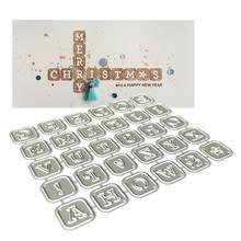 Алфавитные буквы металлические Вырубные штампы искусственная