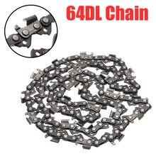 Chainsaw chains 16 Polegada 325 passo 64dl link cinzel completo serra lâmina de corrente substituição para cortador