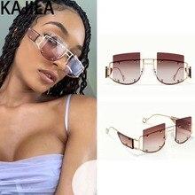 New Arrival 2019 Square Steampunk Sunglasses Women Men Gradient Alloy Frame Sun Glasses For Woman gafas de sol mujer UV400 17241